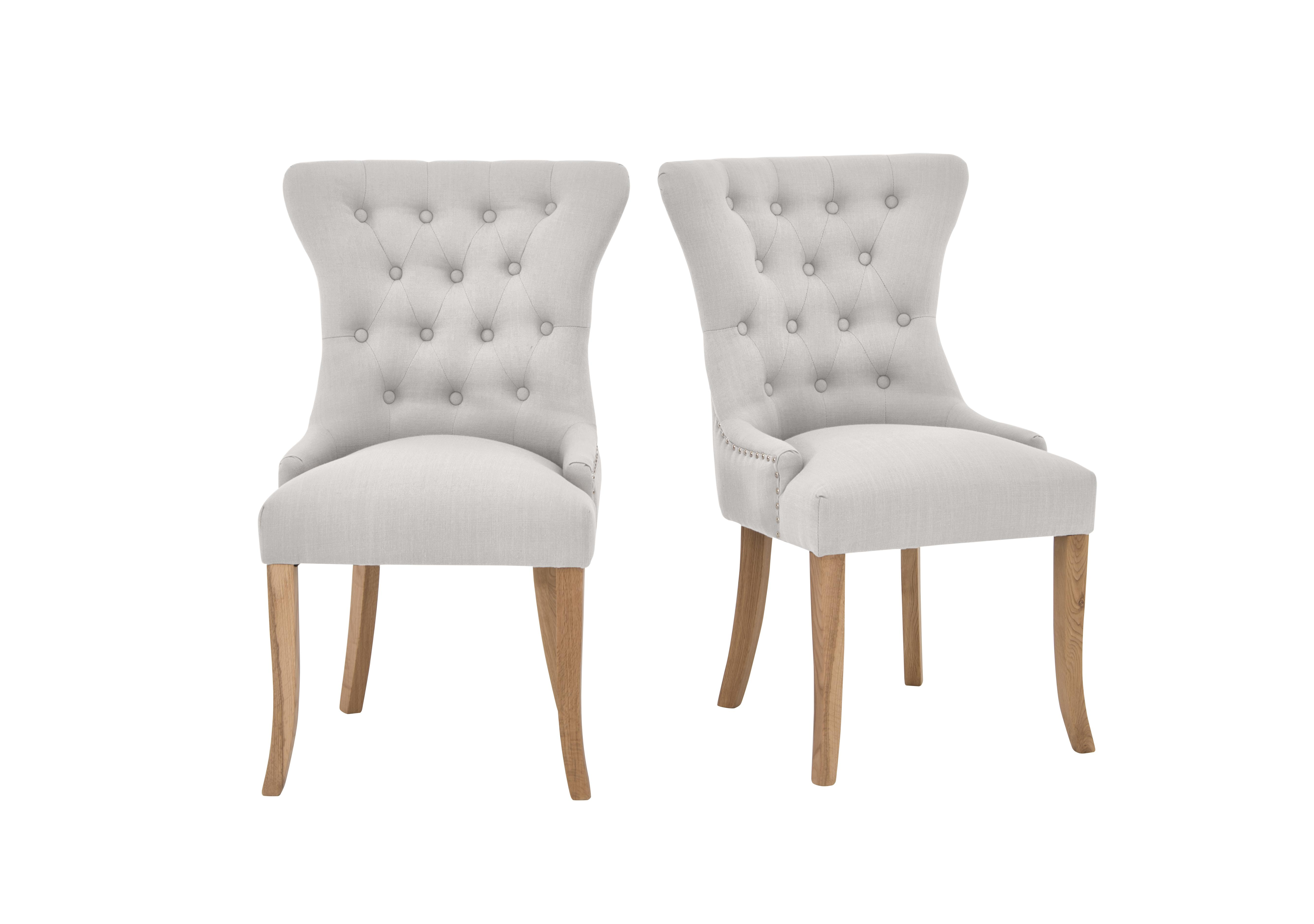 Upholstered dining chairs Furniture Village