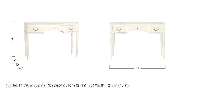 Penelope Dressing Table in  on FV