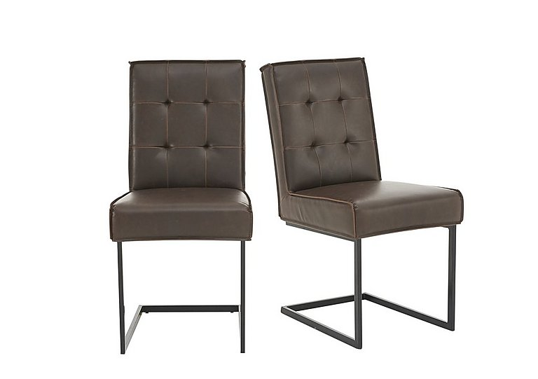 Portland Pair of Club Cantilever Chairs in  on FV