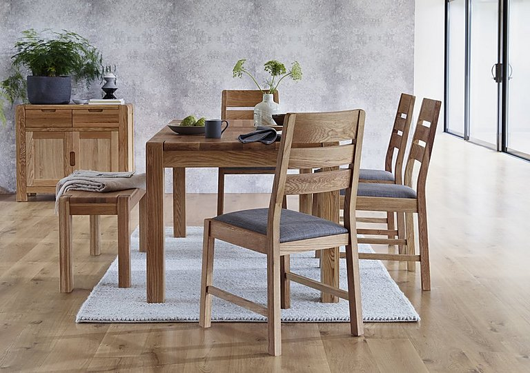 Furniture Village Dining Chairs portland pair of slatted back dining chairs - furniture village