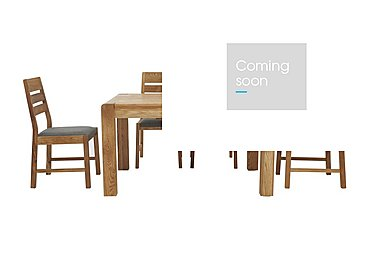Portland Extending Dining Table and 4 Statted Back Chairs in  on FV