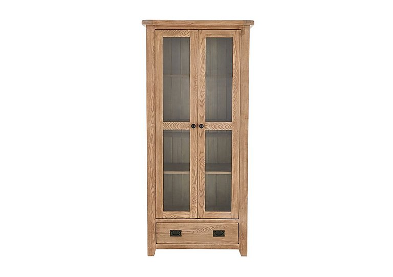 Provence Oak Glazed Display Unit  in {$variationvalue}  on FV