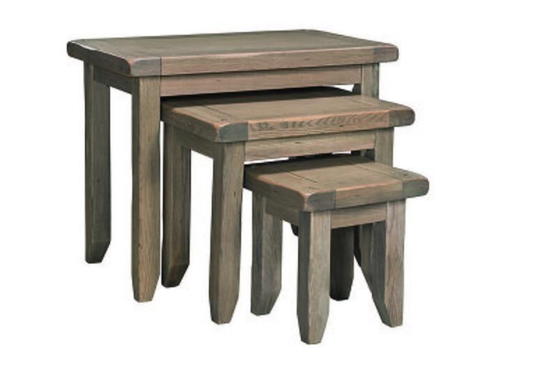 Provence Nest of Oak Tables  in {$variationvalue}  on FV