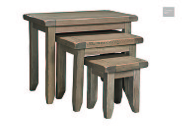 Provence Nest of Oak Tables  in {$variationvalue}  on FV