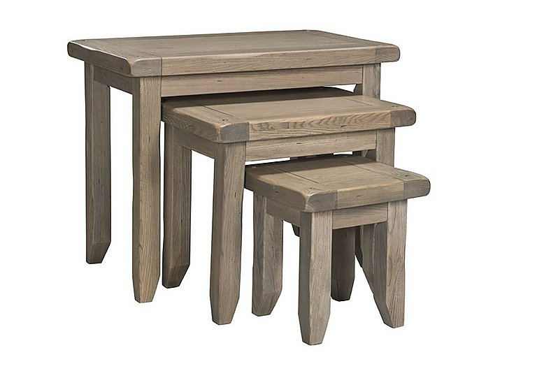 Provence Nest of Oak Tables in  on Furniture Village