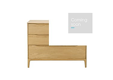 Rimini 4 Drawer Low Wide Chest in  on FV
