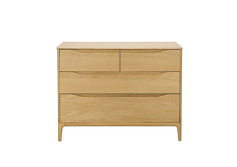 Rimini 4 Drawer Low Wide Chest