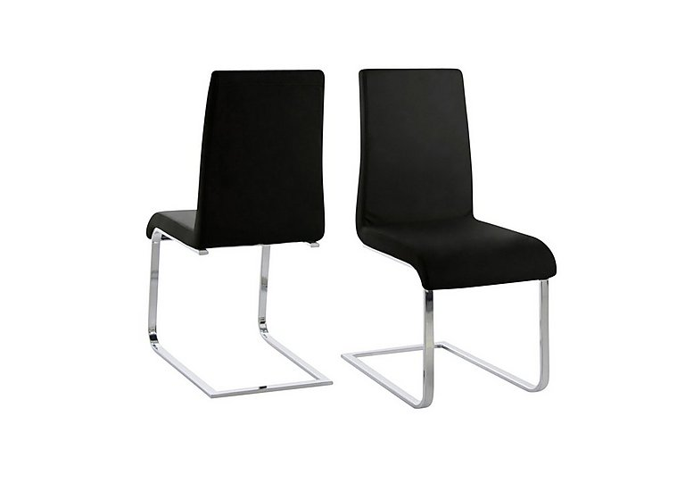Radius Pair of Cantilever Dining Chairs in  on FV