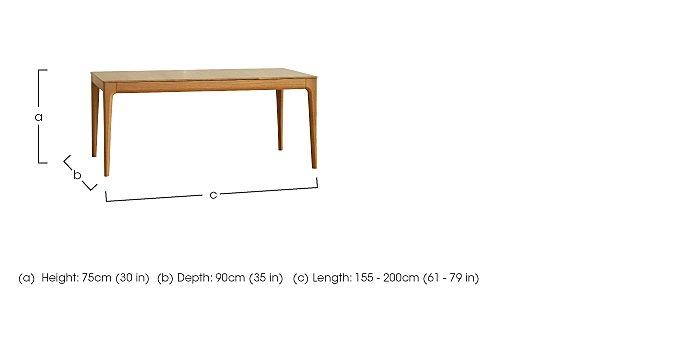 Romana Medium Extending Dining Table  in {$variationvalue}  on FV