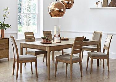 Romana Medium Extending Dining Table in  on FV