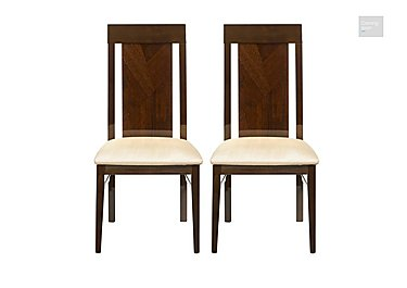 Rossini Pair of Capri Dining Chairs  in {$variationvalue}  on FV