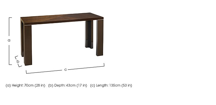 Rossini Console Table  in {$variationvalue}  on FV