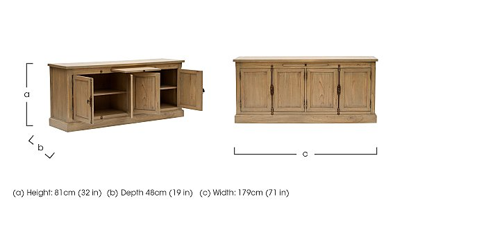 Revival Stockwell Sideboard in  on FV