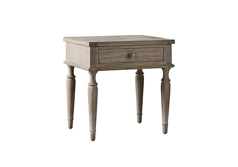 Riviera 1 Drawer Lamp Table in  on FV