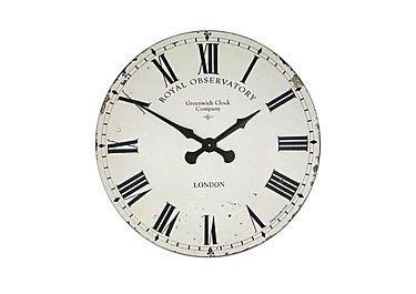 Royal Observatory Clock Cream in  on Furniture Village
