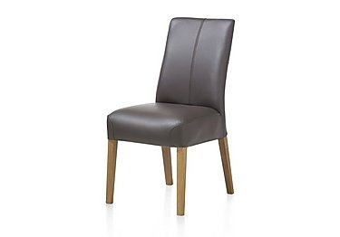 Santorini Leather Dining Chair in  on FV