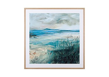 Seagrass Framed Picture in  on FV