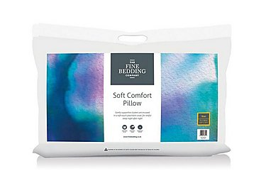 Soft Comfort Pillow in  on Furniture Village