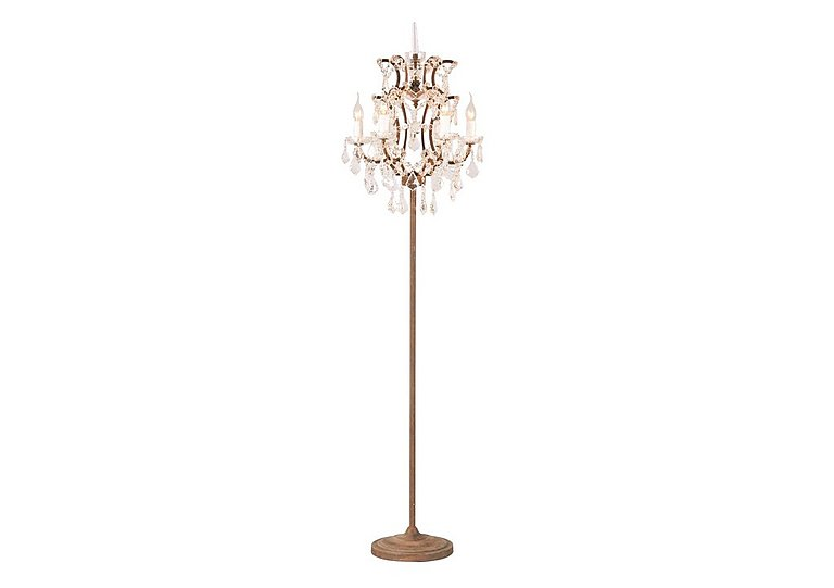 Shaftesbury Chandelier Floor Lamp in  on FV