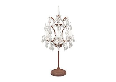 Shaftesbury Chandelier Table Lamp in  on FV