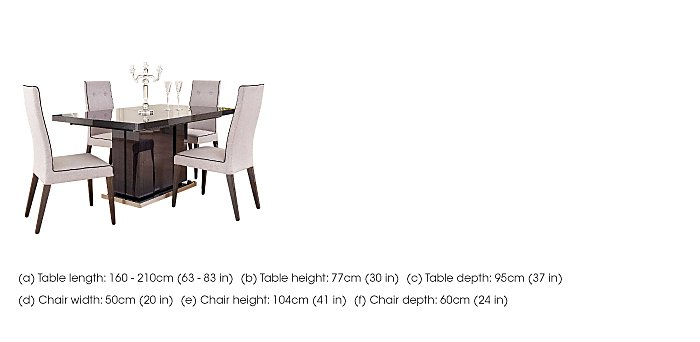 St Moritz Table and 4 Chairs  in {$variationvalue}  on FV