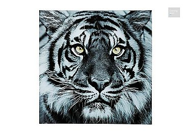 Tiger Face Glass Picture  in {$variationvalue}  on FV