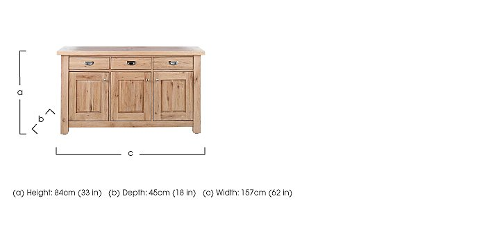 Tuscan Hills Wide Sideboard in  on FV