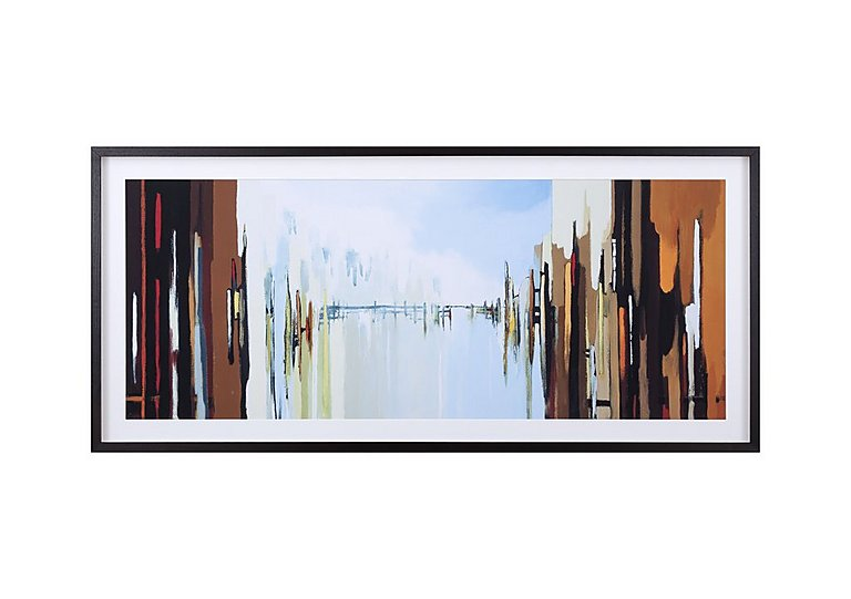 Urban Abstract Framed Picture in  on FV