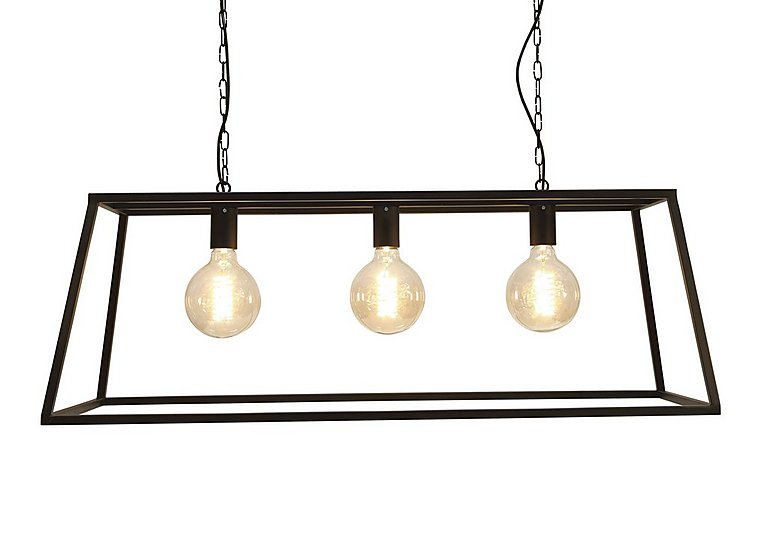 Vienna Triple Trapeze Ceiling Light in  on FV