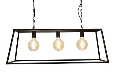 Vienna Triple Trapeze Pendant Light in  on FV
