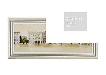 Venetian Morning Framed Picture in  on FV