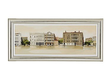 Venetian Morning Framed Picture in  on FV