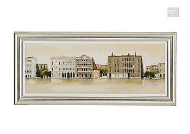 Venetian Morning Framed Picture  in {$variationvalue}  on FV