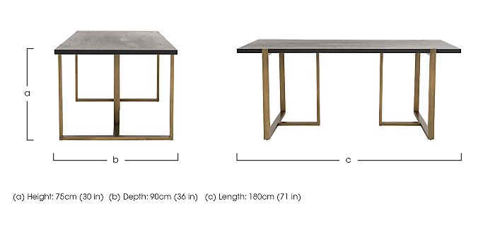 Vogue Dining Table in  on Furniture Village