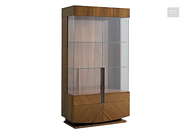 Verona 2 Door Curio Cabinet  in {$variationvalue}  on FV