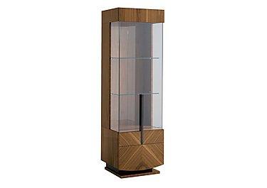 Verona 1 Door Right Hand Facing Curio Cabinet in  on FV
