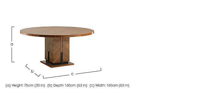 Verona Round Dining Table in  on FV
