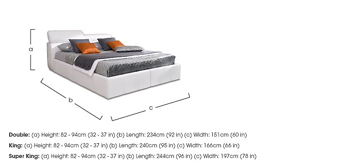 Babylon King Size Bedstead - Only One Left! in  on FV