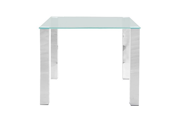 Corfu Square Glass Dining Table - Limited Stock