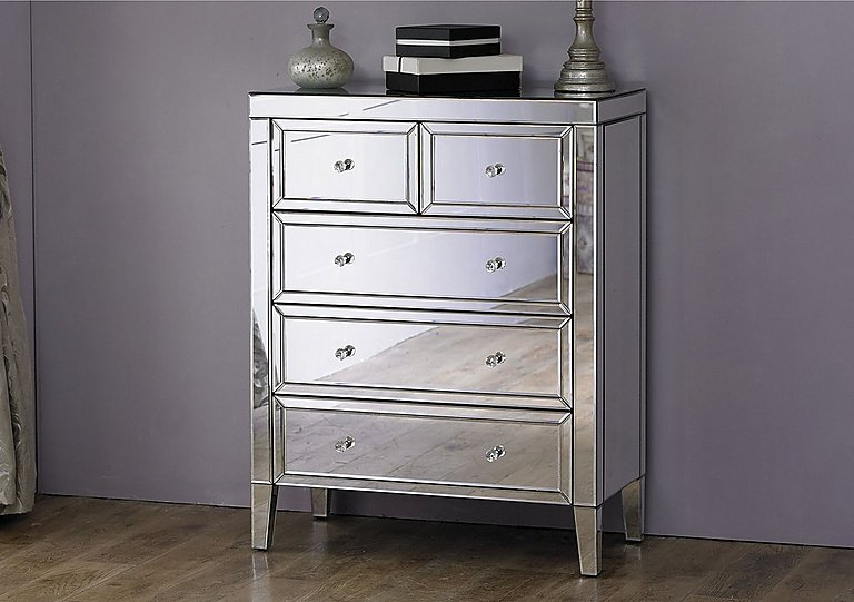 Francesca 3+2 Drawer Chest - Only One Left!