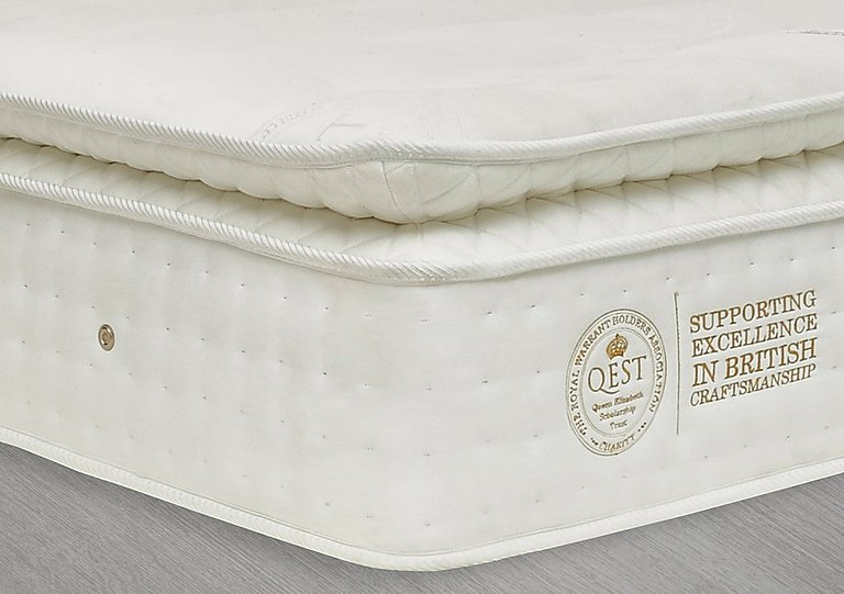QEST Legacy King Size Pillow Top Mattress - Only One Left!