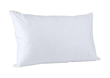 Vispring White Goose Feather & Down Pillow - Only One Left! in  on FV