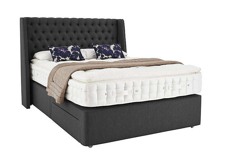 Hypnos revive opulent cashmere super king size divan for Super king size divan