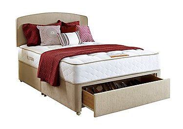 Richmond 5ft Divan Set with Large End Drawer - Only One Left! in  on FV