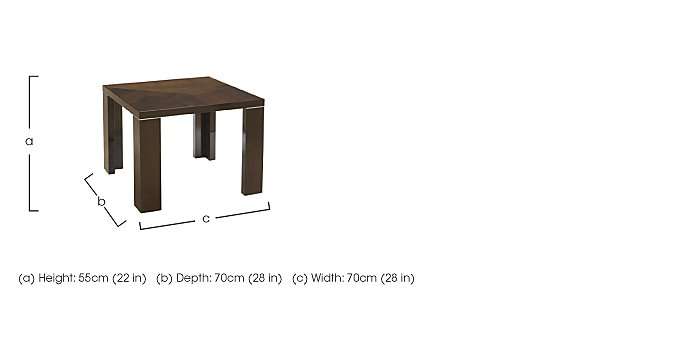 Rossini Lamp Table - Only One Left! in  on FV
