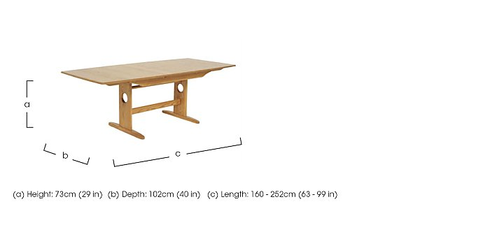 Windsor Large Extending Dining Table in  on FV