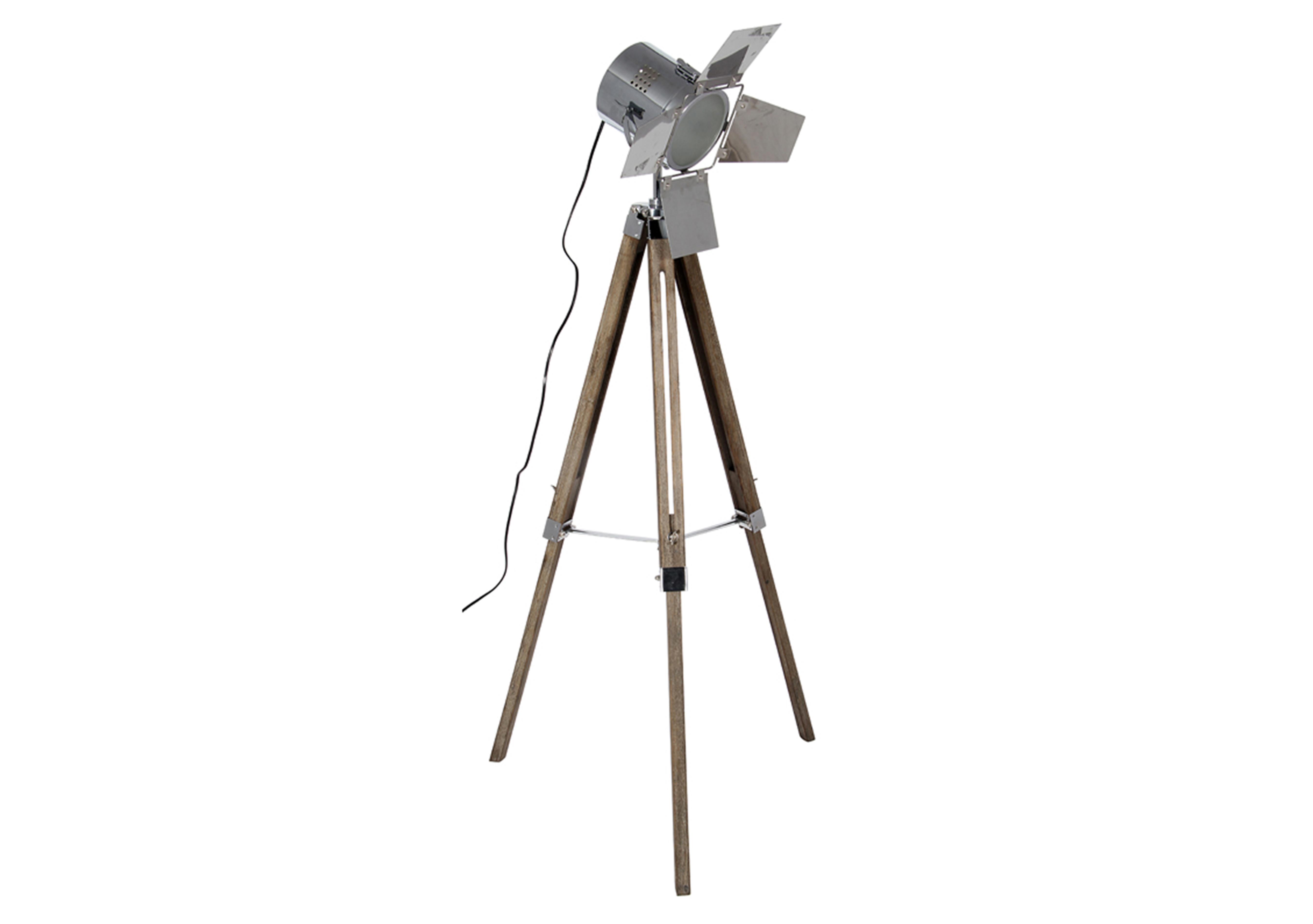 Film floor lamp