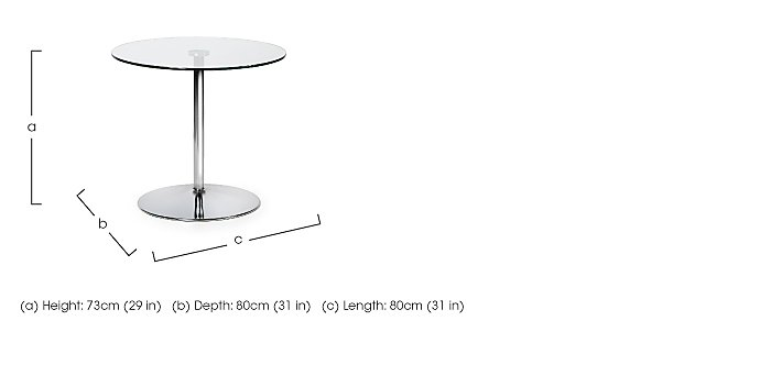 Zen Pedestal Dining Table in  on FV