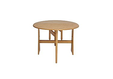 Windsor Gate Leg Table in Straw Finish (St) on FV