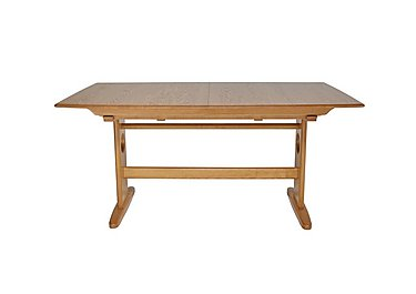 Windsor Large Extending Dining Table in Light Finish (Lt) on FV